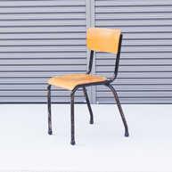 Belgian school chair black1
