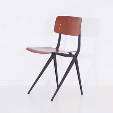 Marko chair S201 brown & black