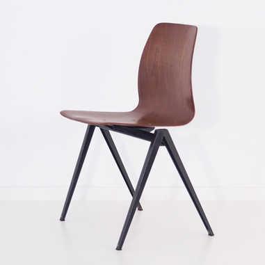 Galvanitas chair S22 brown&black1
