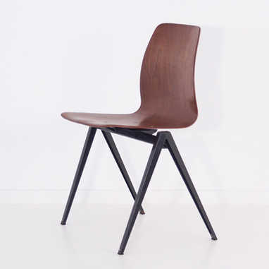Galvanitas chair S22 brown&black1