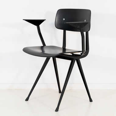 Result chair 1st edition armrest black seat