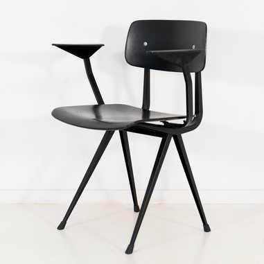 Result chair 1st edition armrest black seat