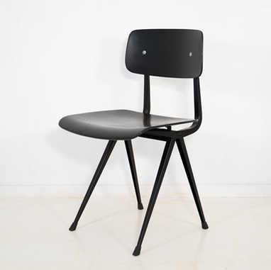 Result chair 1st edition black