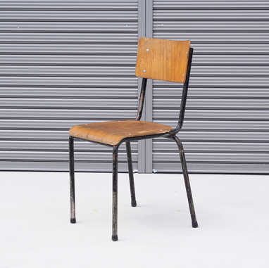 Belgian school chair black2