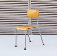 Belgian school chair gray3