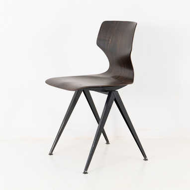 Galvanitas chair S14 dark brown