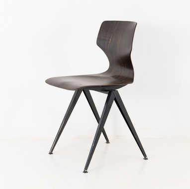 Galvanitas chair S14 dark brown
