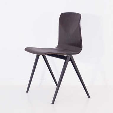 Galvanitas chair S22 dark brown