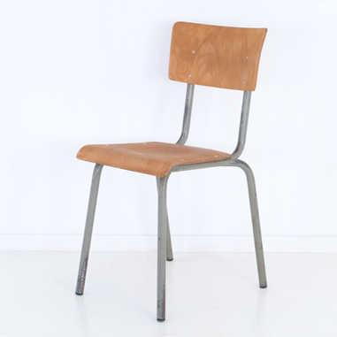 Vintage school chair Tubax 1972