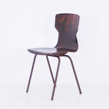 Eromes chair brown
