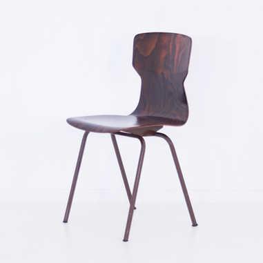 Eromes chair brown