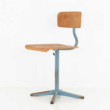 Industrial school stool