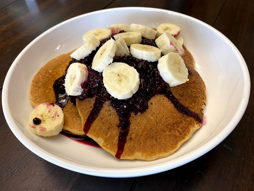 Recipe: WFPB Pancakes With Berries