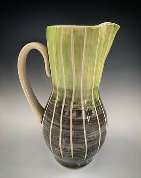 Pitcher #pottery #madeinthefingerlakes #