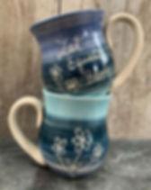 New mugs for this cold #mugshotmonday ☕️