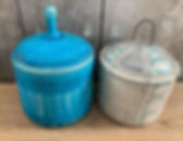 A couple of little jars from my time _pe