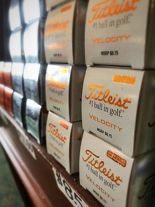 Titelst Velocity Golf Balls (Sleeve)