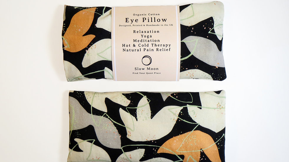 Slow Moon Organic Eye Pillow - Cosmos