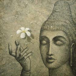 buddha in the crown  144x144cm.jpg