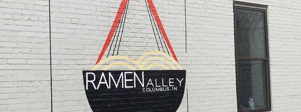 Ramen Alley, Exterior latex