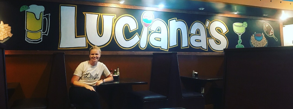 Luciana's, acrylic