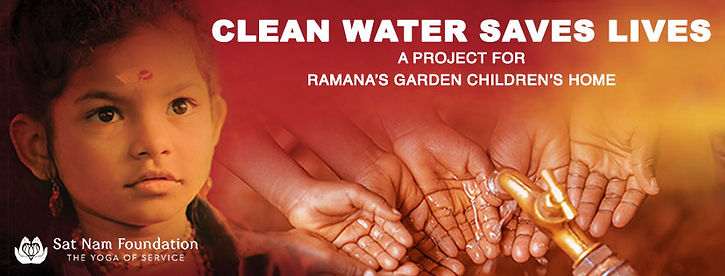 Ramana's Garden Children's Home Logo