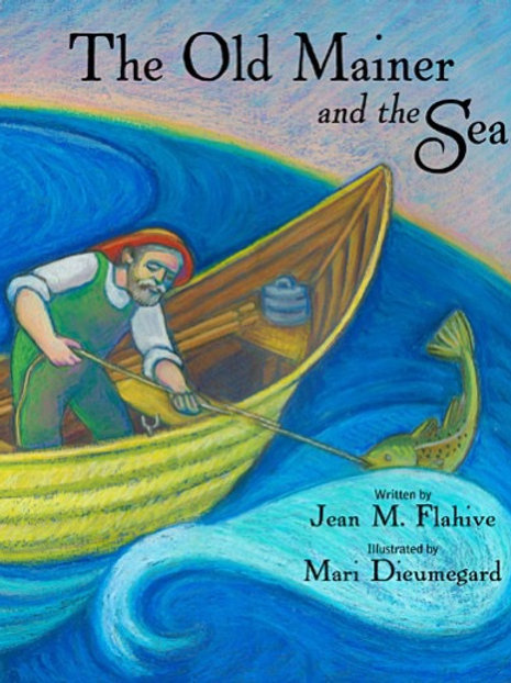 "Signed Book ""The Old Mainer and the Sea"""