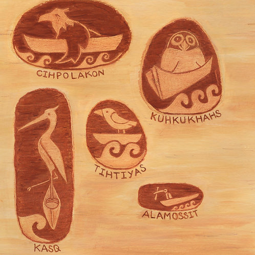 Bird Canoes