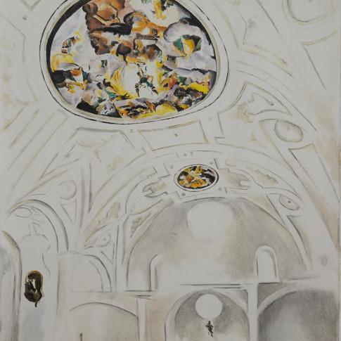 2 Ceiling Frescoes