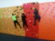 Rocódromo escalada para colegios primaria, secundaria, institutos