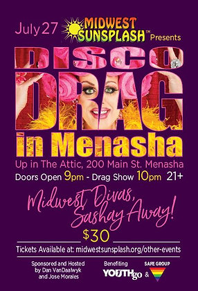 DISCO & DRAG IN MENASHA