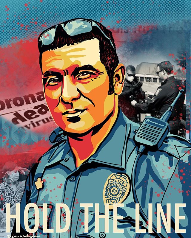 Thank you to all of the law enforcement