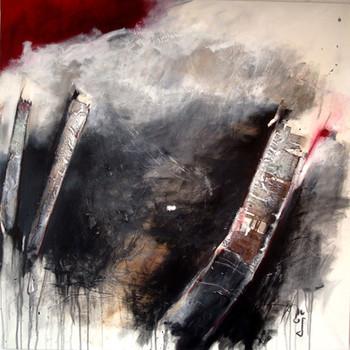 100x100  auf Leinwand   Kunstsammlung Migros Aare