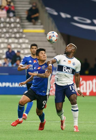 Oct. 2, 2021 Vancouver Whitecaps FC vs San Jose FC Saturday