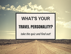 Just answer four simple questons and this intuitive quiz will reveal your traveler personalty