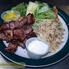 Our famous Mixed Plate (Lamb/Chicken)