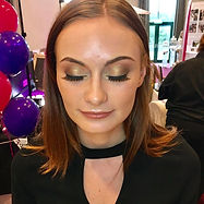 wedding fayre makeup artist, eternity with love makeup artist, gold smokey eye, hd brows, cardiff  makeup artist, hensol castle, professional makeup artist