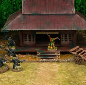 Dragon Clan hero defends his dojo