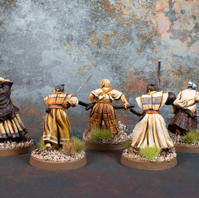 Lion Clan Unarmoured Samurai