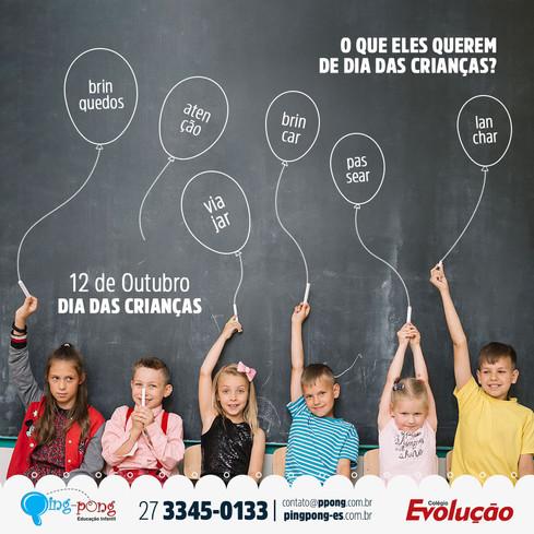 Ping Pong Educação Infantil e Colégio Evolução