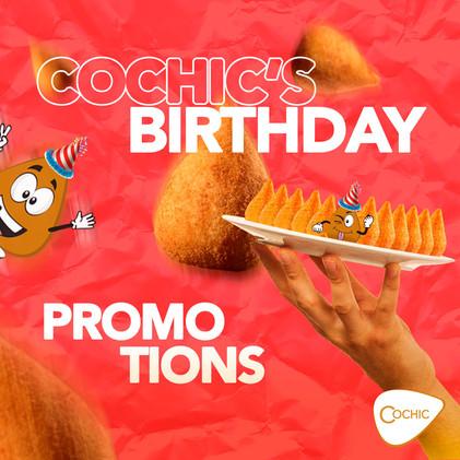Cochic's Birthday - Capa