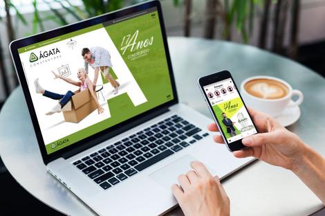 Website Ágata Construtora