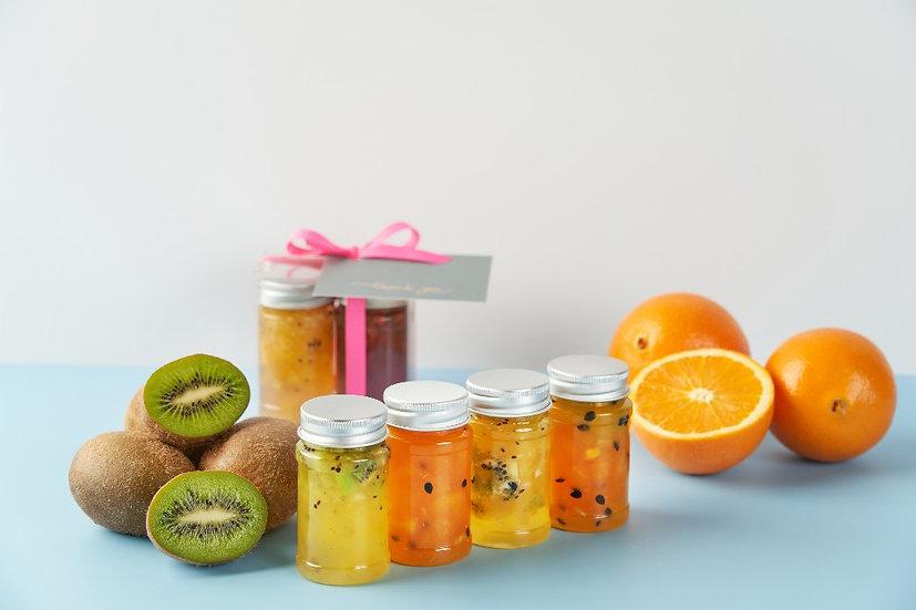 과일청 샘플러 - Green & Orange