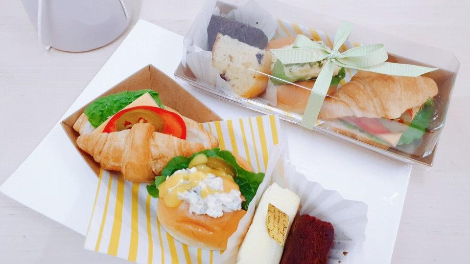 햄치즈 크로&미니핫도그&치즈빵/브라우니