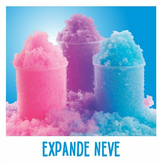 Expande Neve Azul, Expande Neve Violeta, Expande Neve Rosa, Expande Neve Color