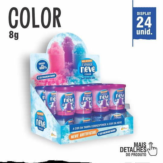 Expande Neve Color Violeta, Rosa e Azul