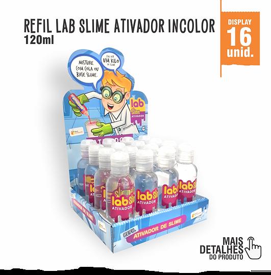 Refil Lab Slime Ativador Incolor