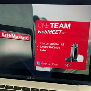 Liftmaster Webinars