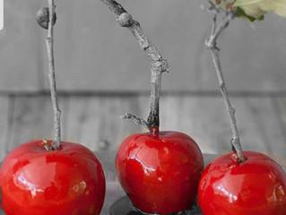 תפוח על מקל