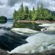 Friendship between Butze Rapids and Kayaker